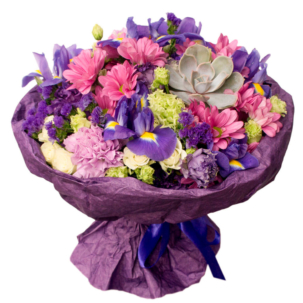"""Букет """"Фиолетовый кристалл"""""""