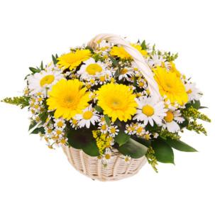"""Цветы в корзинке """"Дольче вита"""""""